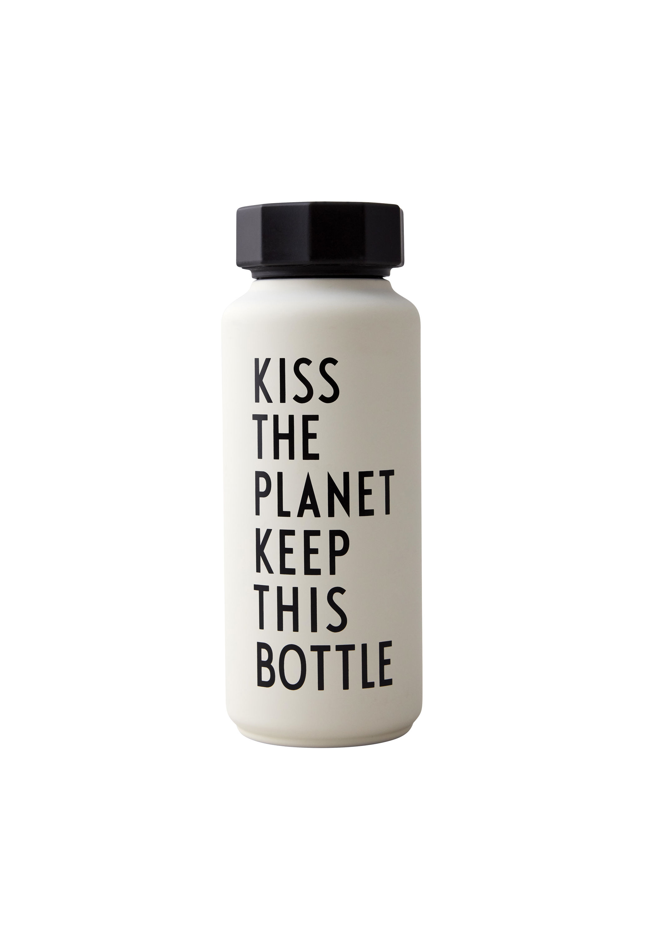 Design Letters - Thermo/Insulated Bottle Special Edition - White 9010 (30100105WHITEKISS)
