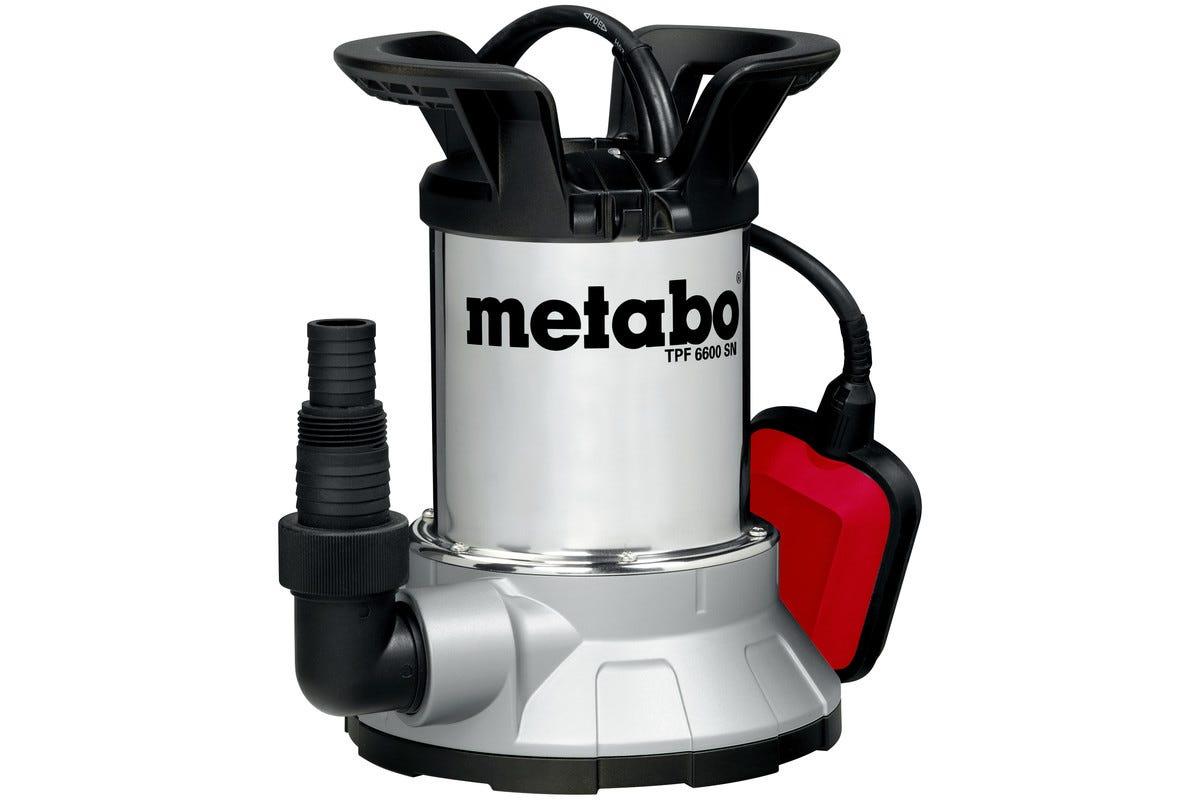 Metabo Lensepumpe Rent Vann TPF 6600 SN