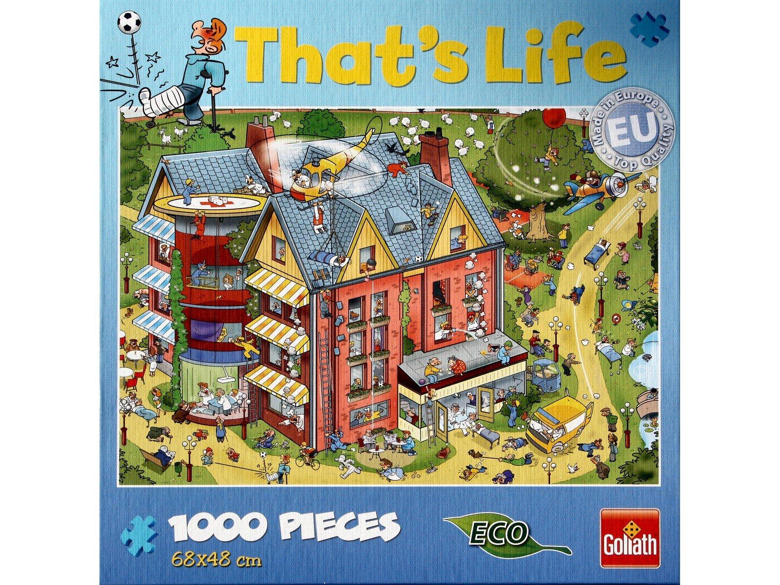 Goliath - That's Life - Puzzle - Hospital (1000pcs) (71328)