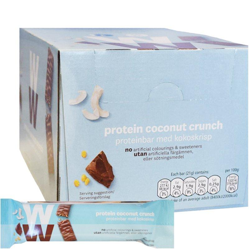 Hel Proteinbars Coconut Crunch 24-pack - 45% rabatt