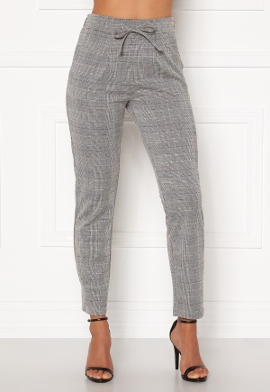 Happy Holly Mathilda high waist tricot pants Checked 52/54