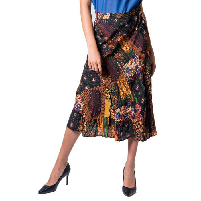 Desigual Women's Skirt Black 175866 - black 38