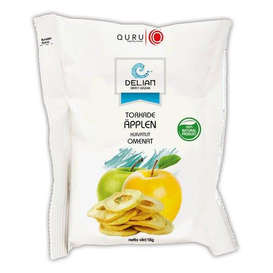 Torkade Äpplen 18g - 44% rabatt