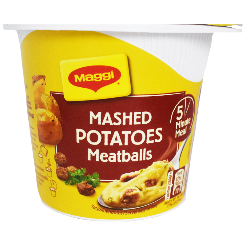 Kuppiateria Mashed Potatoes & Meatballs - 14% alennus