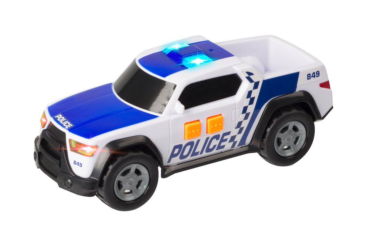 Teamsterz - Small Light and Sound Police Pick Up (1416562)