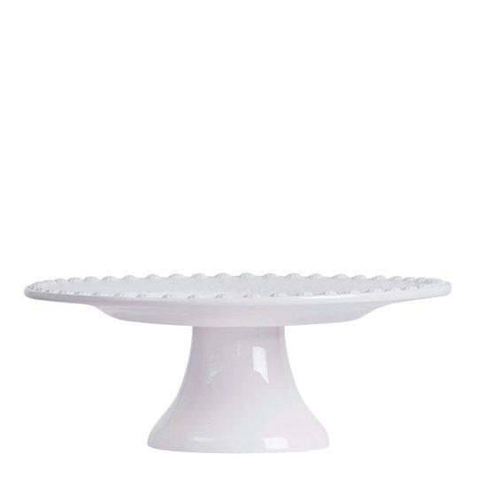 PotteryJo - Daisy Tårtfat 22 cm Vit