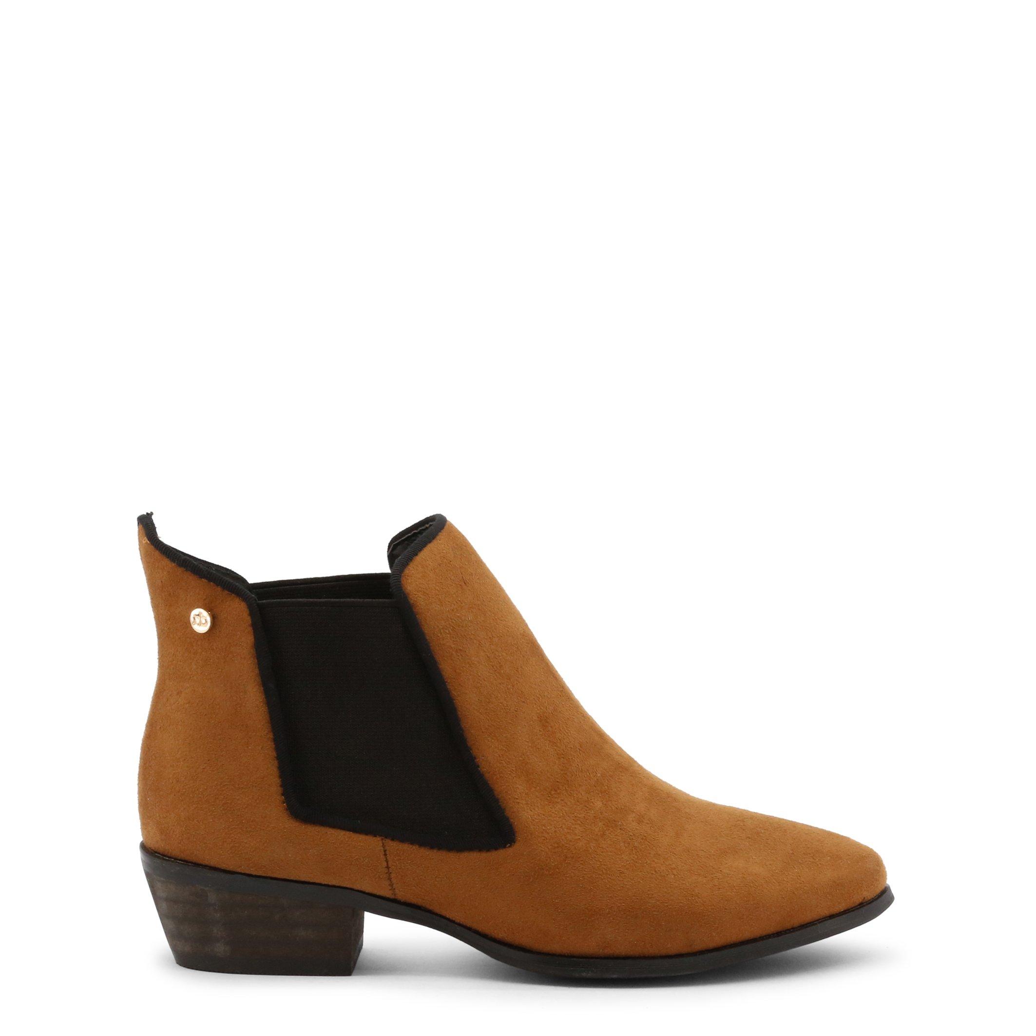 Roccobarocco Women's Ankle Boot Black RBSC1JJ02STD - brown EU 37