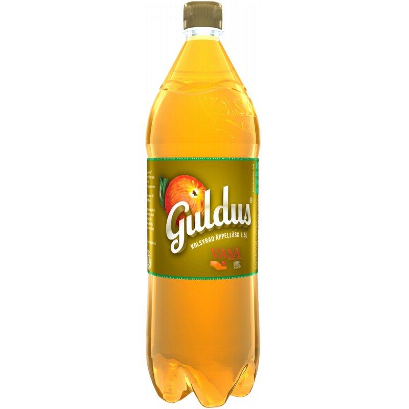 """Läsk """"Guldus"""" 1,5l - 44% rabatt"""