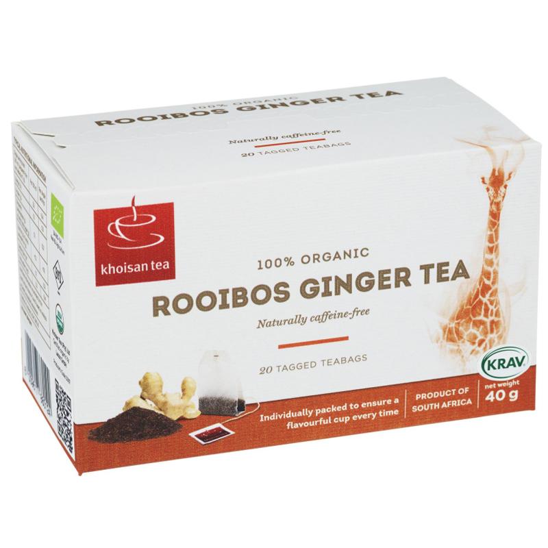 Eko Te Rooibos Ingefära 40g - 34% rabatt