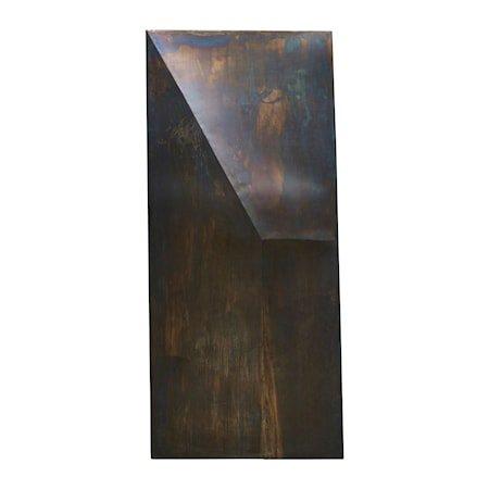 Tavle Fold Design Antikk Brun 170 cm