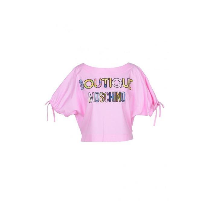Boutique Moschino Women's T-Shirt Pink 171712 - pink 36