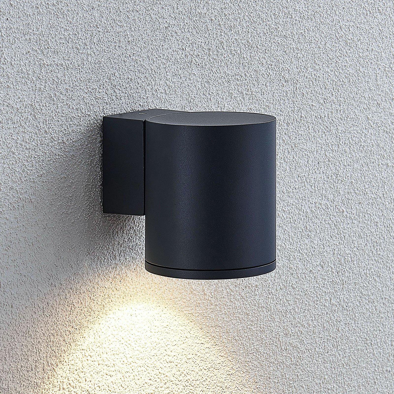 Utendørs LED-vegglampe Visavia, 1 lyskilde