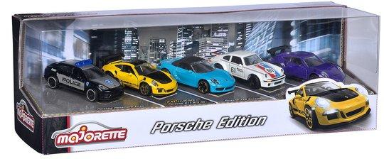Majorette Porsche Gavesett 5 Biler