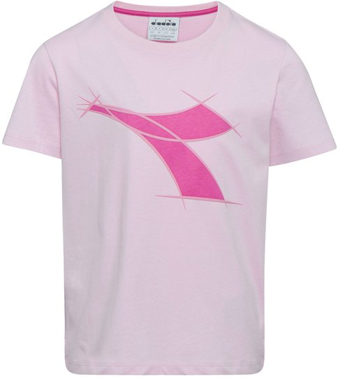 Diadora T-Shirt, Pink Lady L