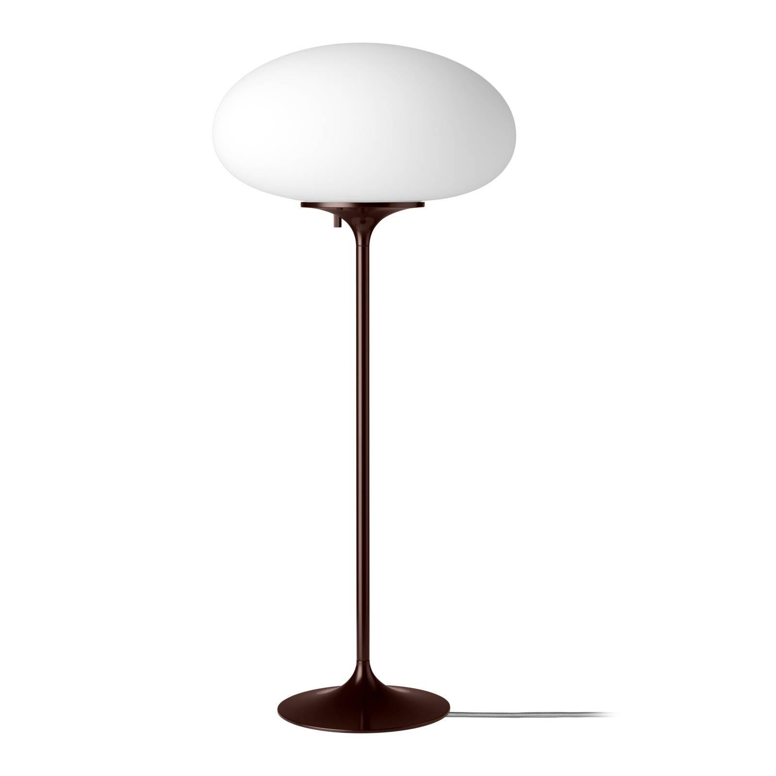 GUBI Stemlite -pöytävalaisin, musta-punainen 70 cm