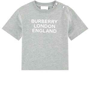 Burberry Logo T-shirt Grå melange 18 mån