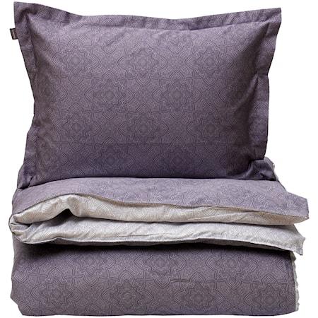 Noa Påslakan dubbel Dim purple 220x220 cm