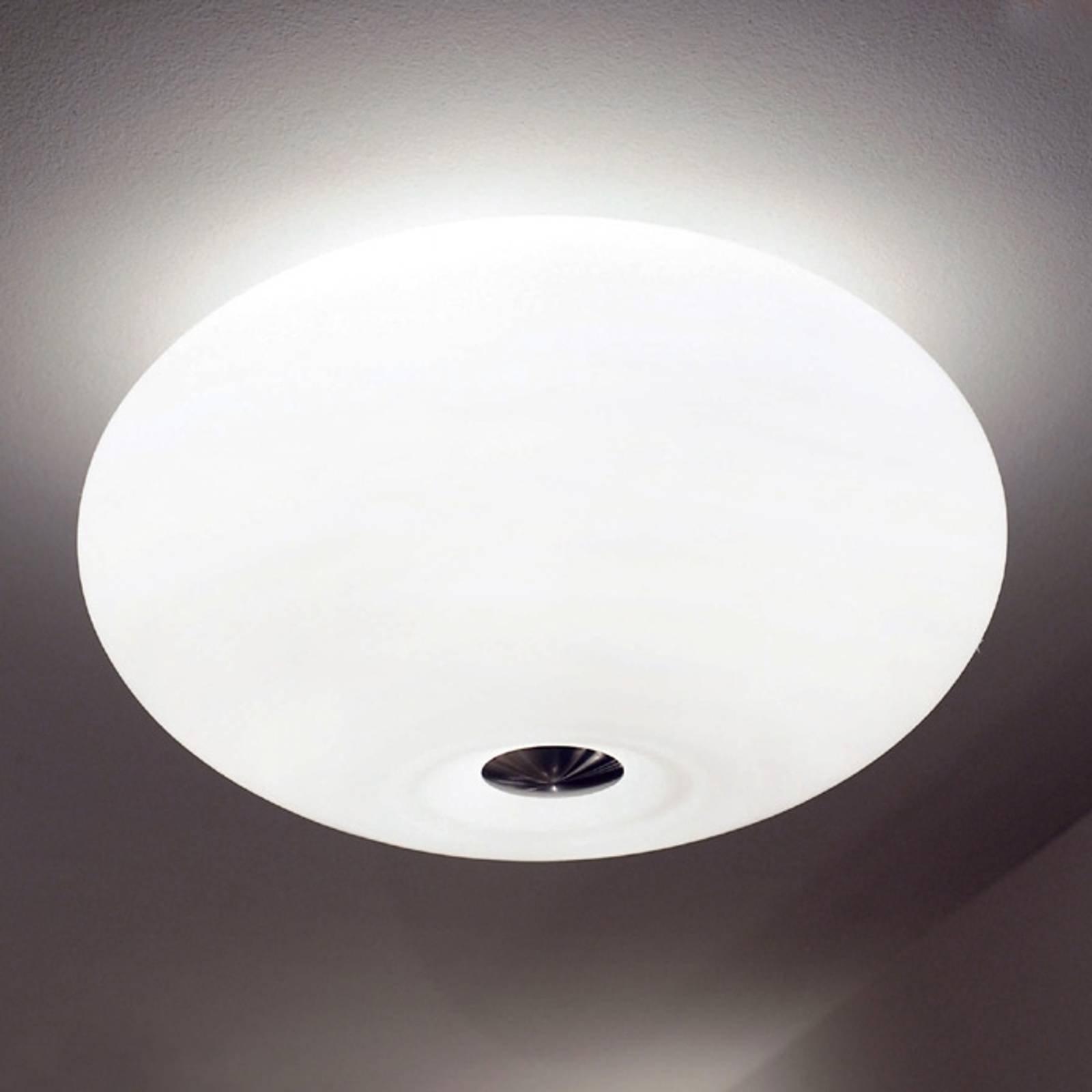 Vakker taklampe AIH 38 cm hvit matt