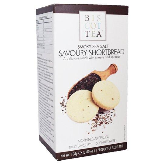 """Brödkakor """"Shortbread Sea Salt"""" 108g - 69% rabatt"""