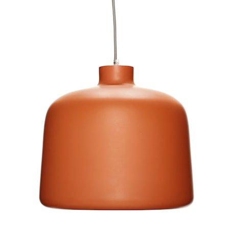 Taklampe Aluminium ø35xh29 - Terracotta/Hvit