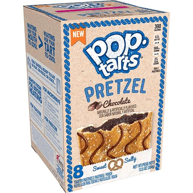 Kelloggs Pop-Tarts Pretzel Chocolate 384g