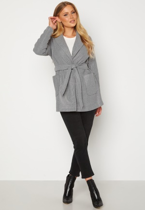 BUBBLEROOM Peyton Short Coat Grey melange 42