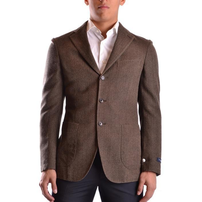 Burberry Men's Blazer Brown 164026 - brown 48