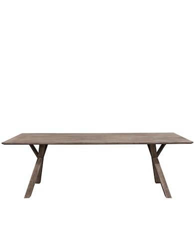 TREE 240 rect dining table pebbles grey (LPS)