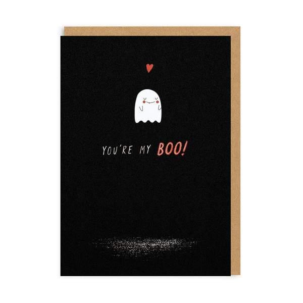 My Boo Enamel Pin Greeting Card