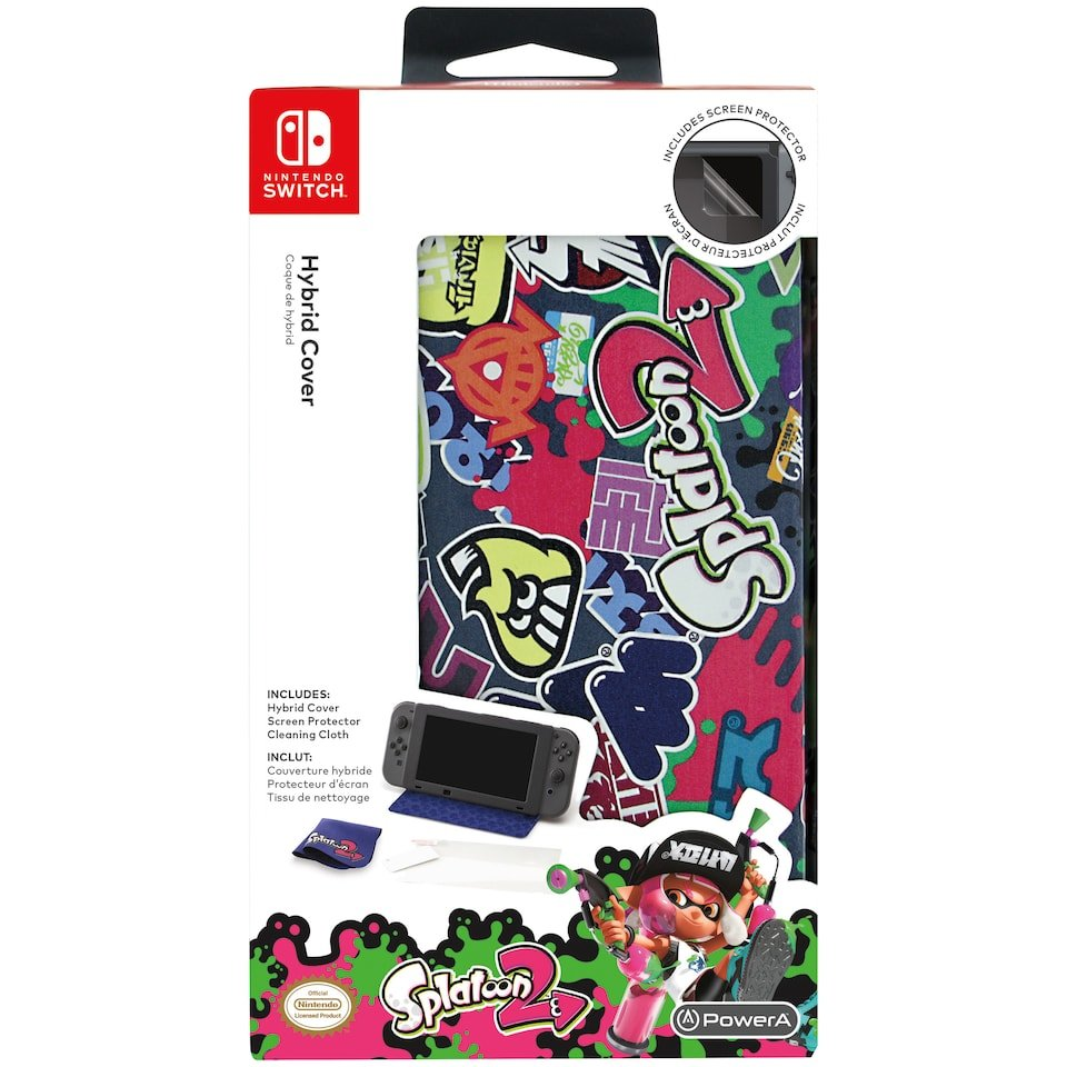 PowerA Nintendo Switch Hybrid Cover Splatoon 2