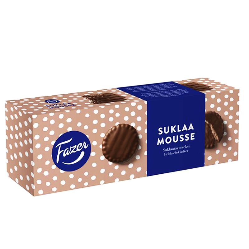 Suklaa Mousse Suklaatäytekeksit - 33% alennus