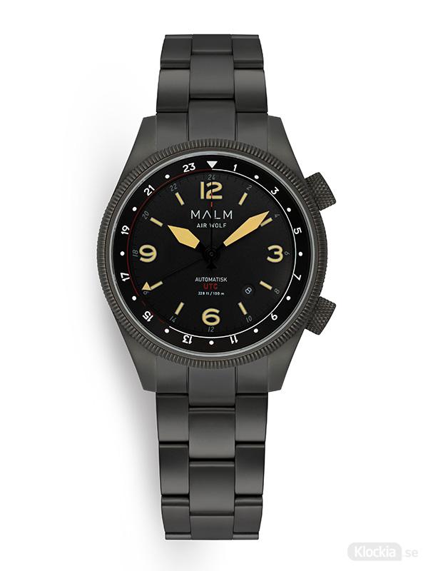 MALM AIR WOLF Gun metal Classic Bracelet MW-AW39GMCL