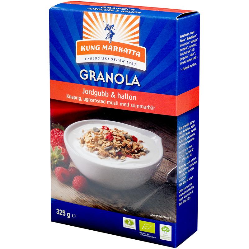 Granola Jordgubb & hallon - 49% rabatt