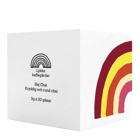 Lykke kaffegårdar - Hej Chai Te 20-pack