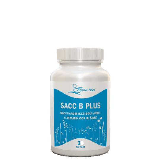 Sacc B Plus, 30 kapslar