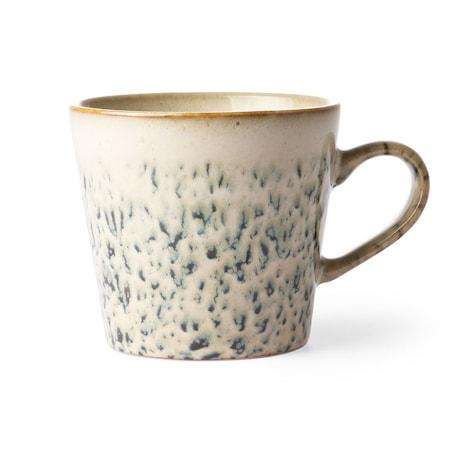 Ceramic 70's Cappuccino Mugg Hail
