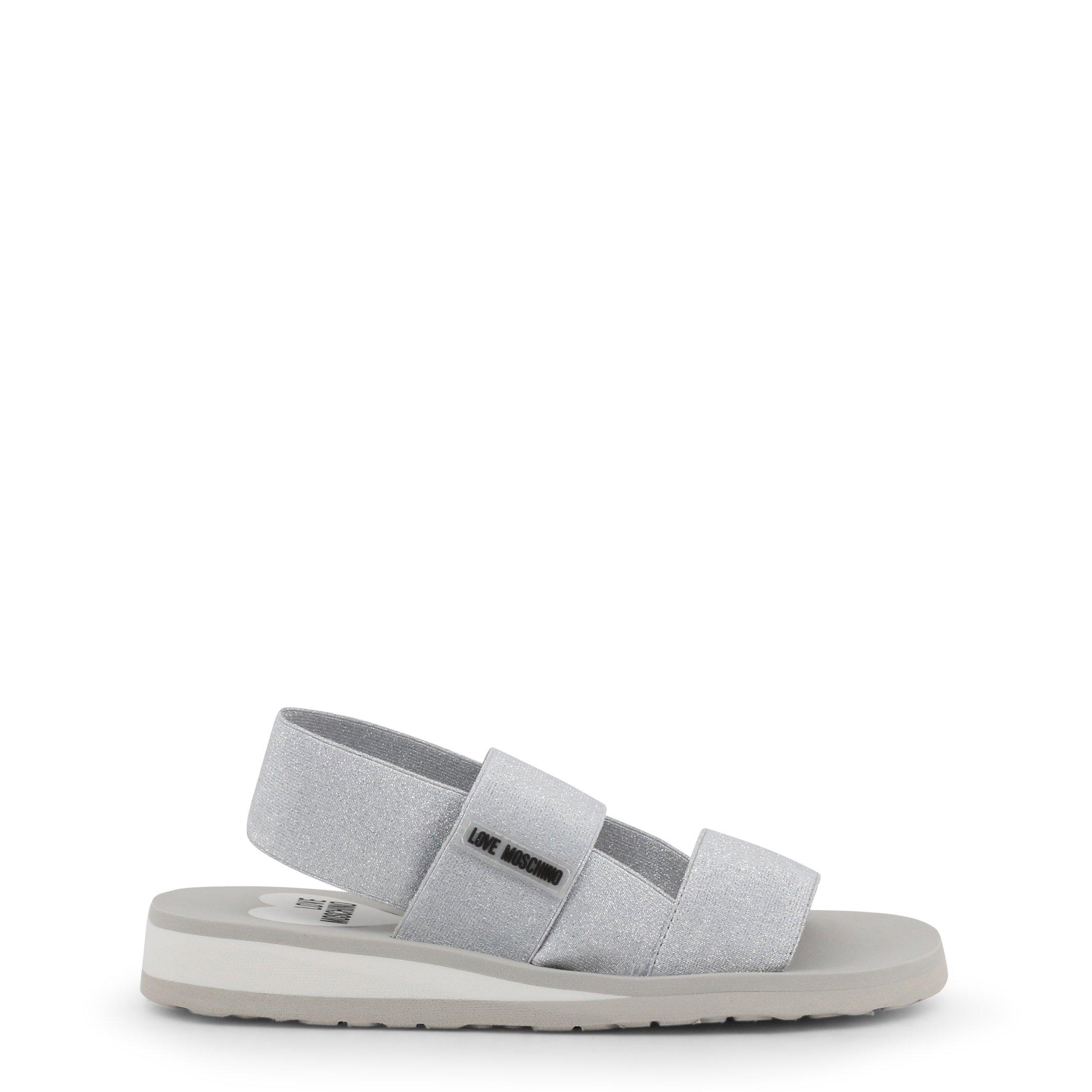 Love Moschino Women's Sandal Various Colours JA16293G07JT - grey EU 36
