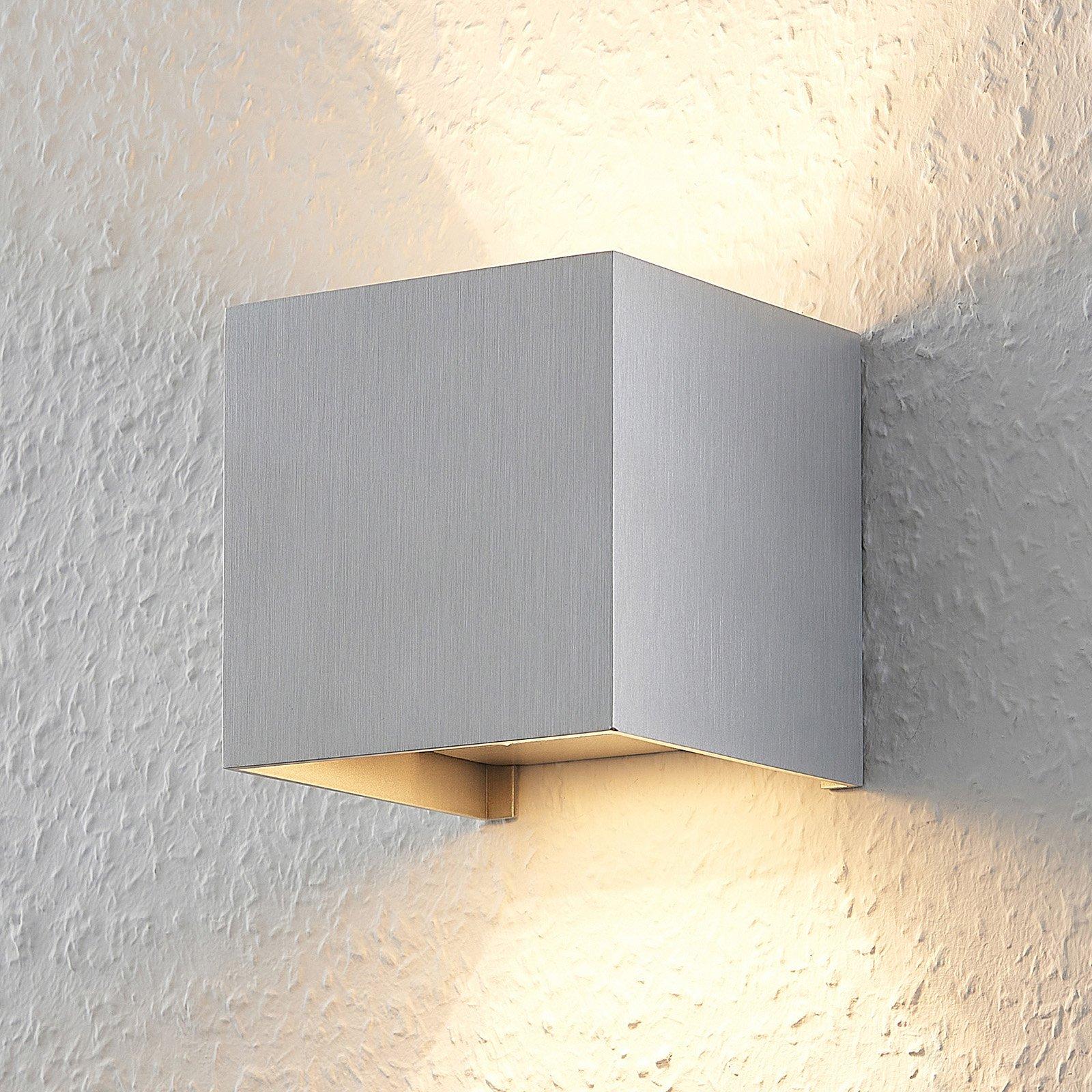 Zusana - vegglampe i aluminium med G9-LED-pære