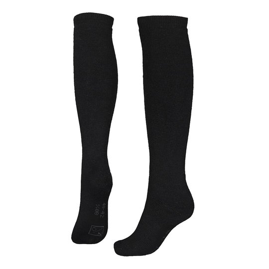North Outdoor 80 sockor i merinoull High, svart