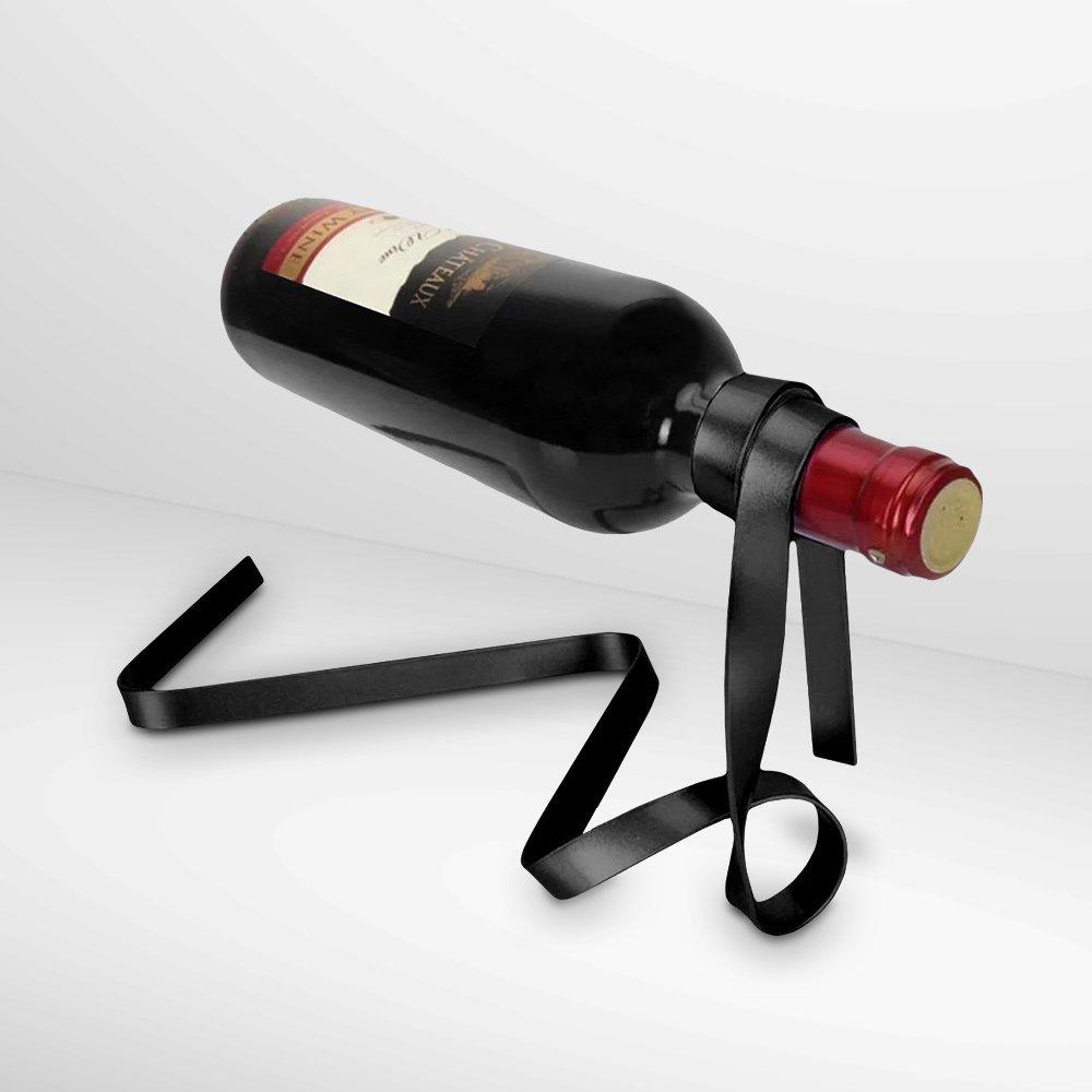 Wine Holder - Ribbon (Black) (04766)