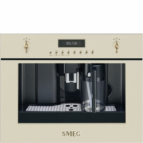 Smeg Cms8451p Inbyggnadsmaskiner - Creme