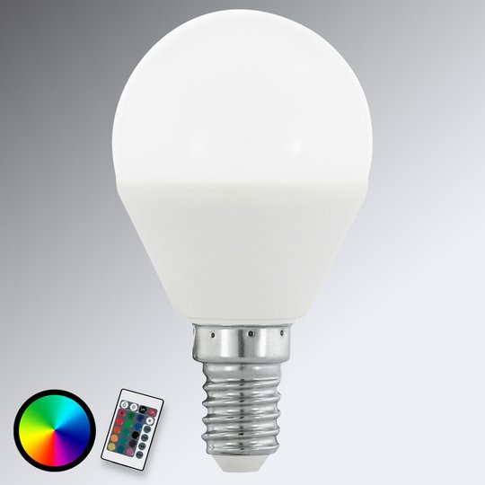 E14 4 W 830 LED-pisaralamppu matta, RGB