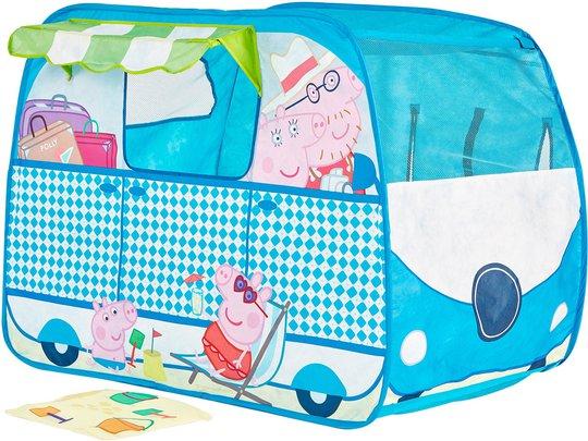 Peppa Gris Leketelt Campingbil Pop-Up