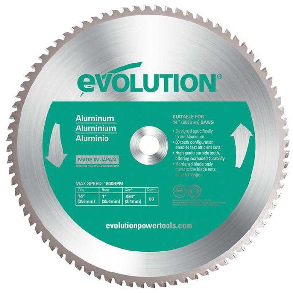 Evolution EV355A Sagklinge 355 x 2,0 x 25,4 mm, 80T