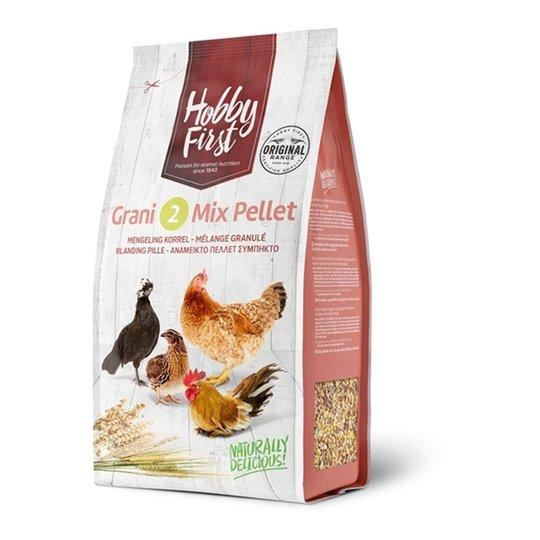 Hobby First Grani 2 Mix Pellet (4 kg)