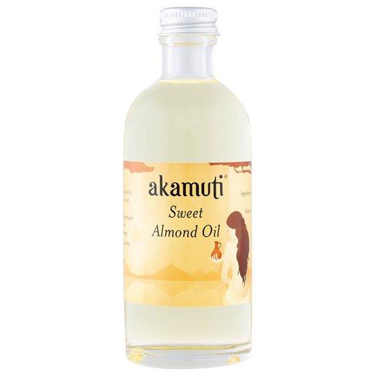 Akamuti Organic Sweet Almond Oil, 100 ml