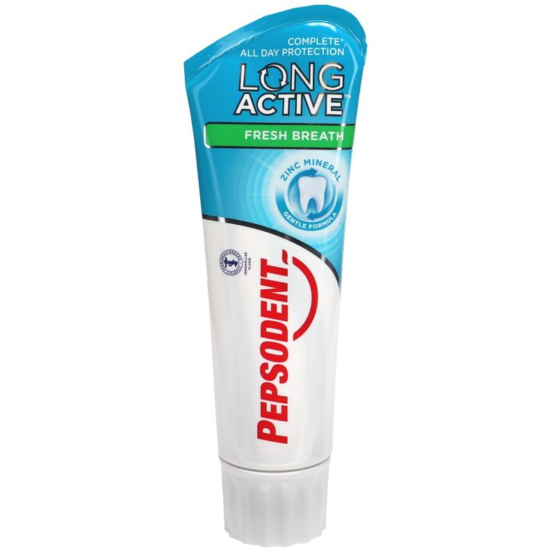 Tandkräm Long Active Fresh Breath - 47% rabatt