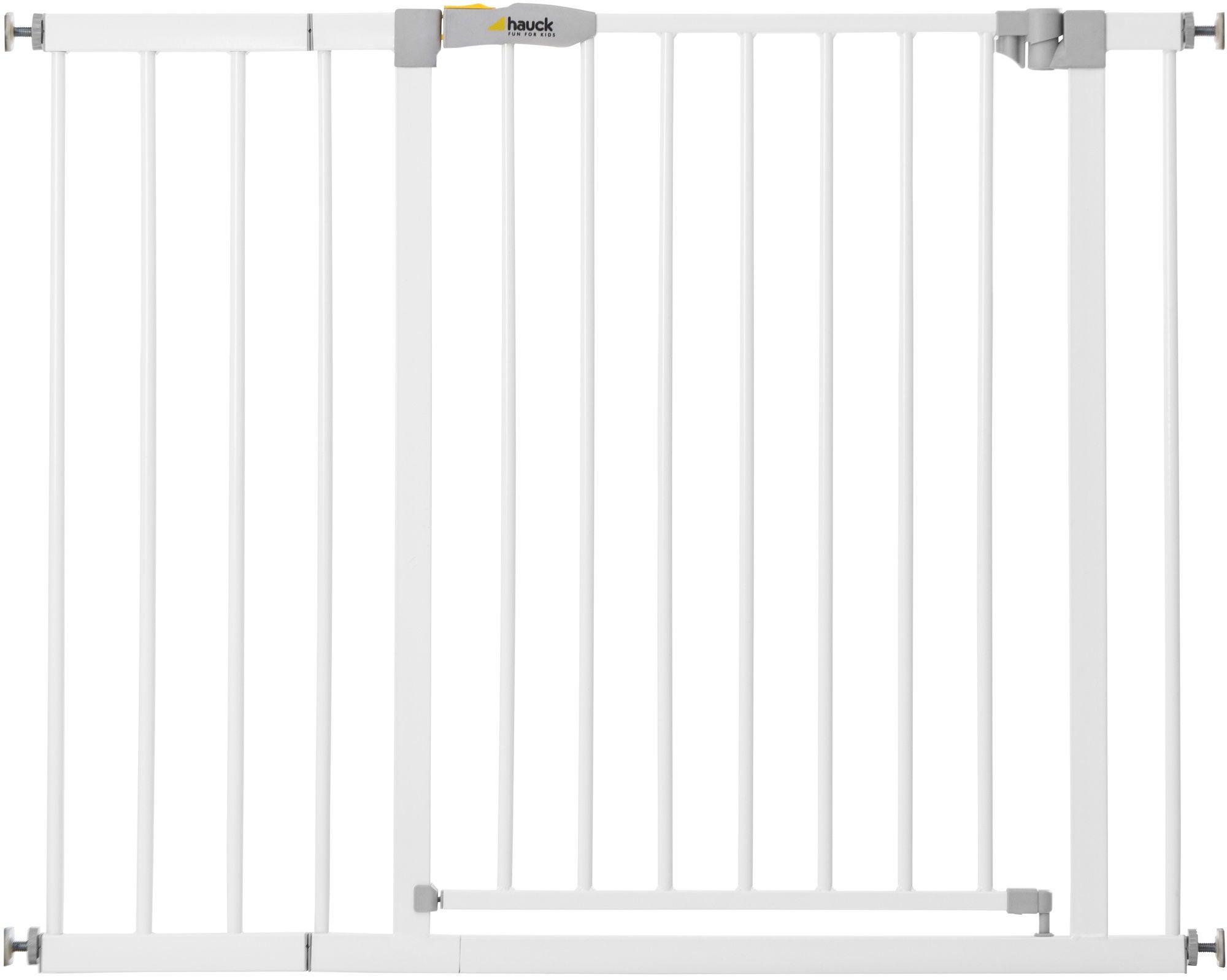 Hauck Stop N Safe Turvaportti + Pidennysosa 21 cm, White