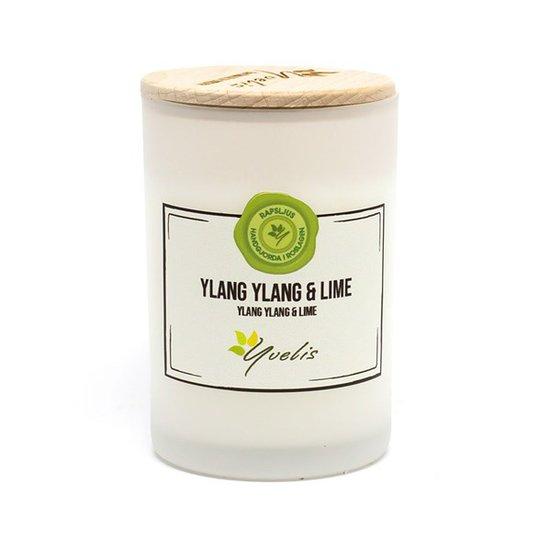 Yvelis Miljövänligt Doftljus Ylang Ylang & Lime