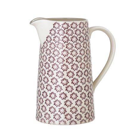 Maya Jug, Purple, Stoneware